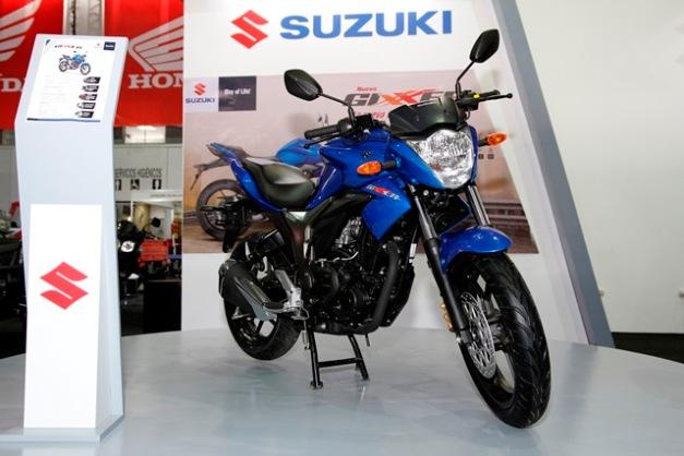 Suzuki Gixxer/ Foto: Prensa Suzuki