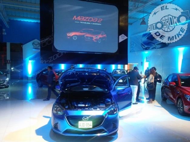 Presentación del Mazda 2 / Foto: El Autódromo de Mike