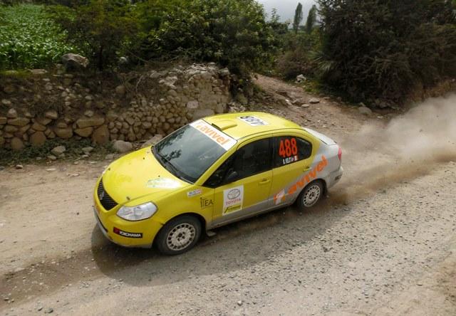 Raúl Velit - Rally Norte Chico ACP / Foto: Prensa ACP