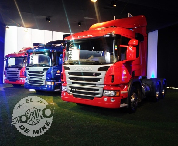 Presentación de nuevo vehículos pesados de Scania / Foto: El Autódromo de Mike