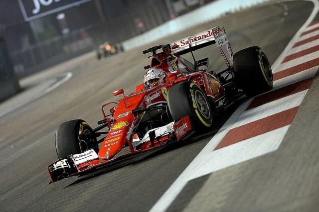 GP Singapur - Sebastian Vettel