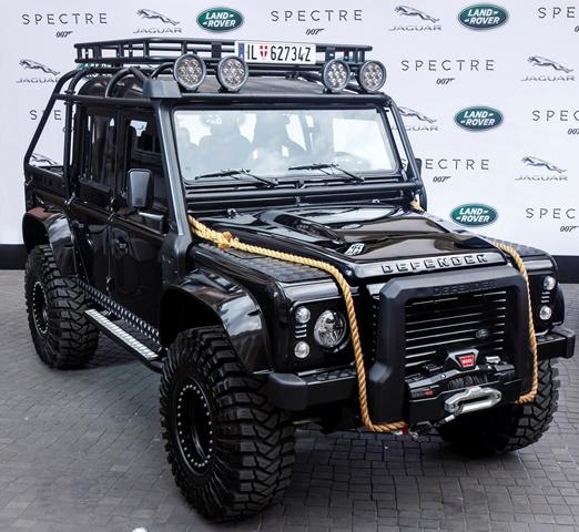 Land Rover Defender - James Bond /Foto: Jaguar Land Rover