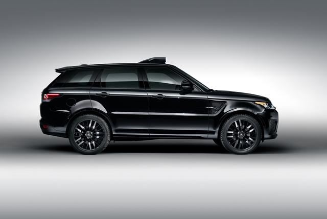 Range Rover Sport SVR - James Bond /Foto: Jaguar Land Rover