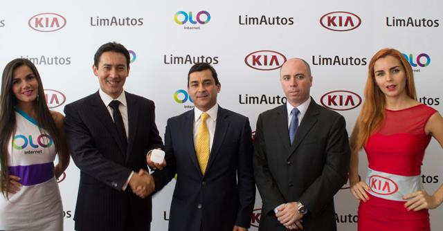 Alianza entre LimAutos y OLO / Foto. Prensa OLO