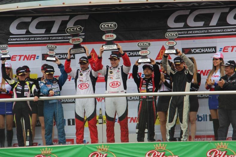 Juan Carlos Tassara & José Fernández - Los 200 km de Lima / Foto: Prensa Kia Racing Team,