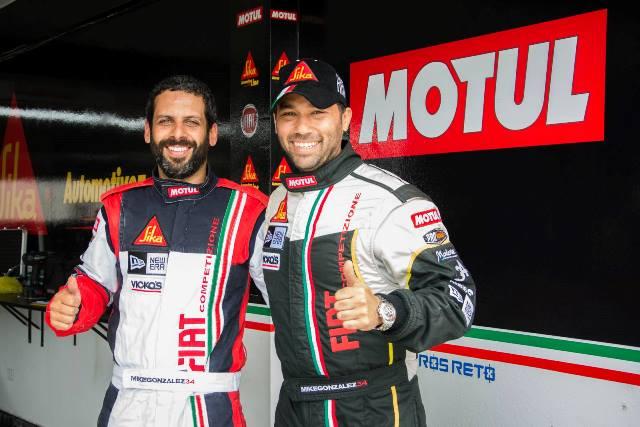 Mike González & Kike Pérez - Los 200 km de Lima / Foto: Prensa González