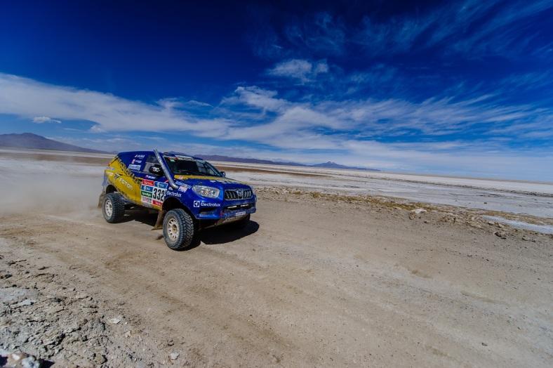 Rally Dakar - Foton 01