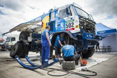 Rally Dakar - Team Kamaz 01