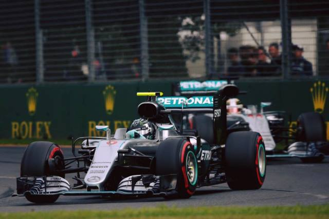 Rosberg - GP Australia