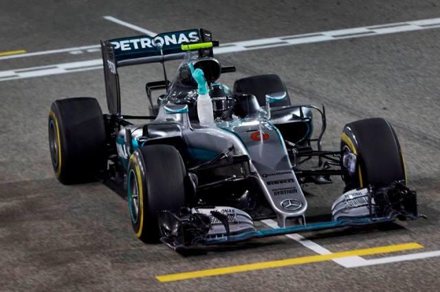 Rosberg - GP Bahrein 01