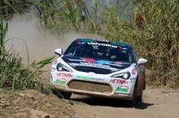 Lucho Alayza - Cuarta fecha del Campeonato Nacional de Rally / Foto: Grupo Firbas