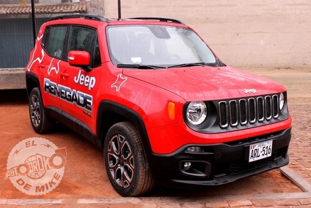 Presentación de la nueva Jeep Renegade / Foto: Miguel Angel Rivadeneyra