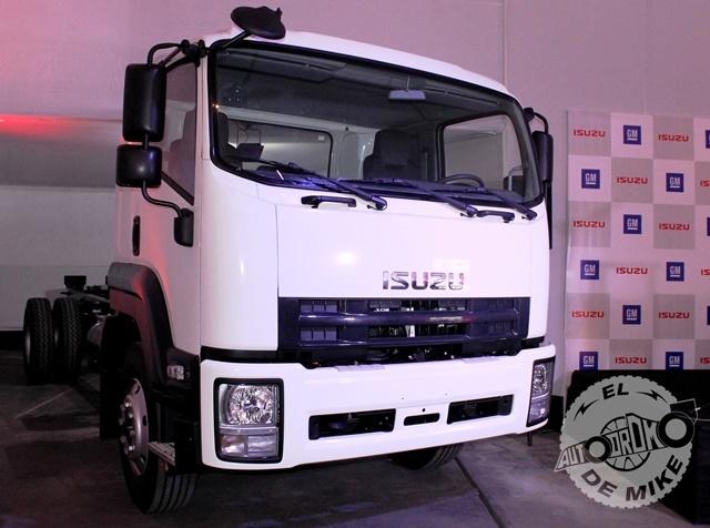 Isuzu - Lanzamiento camiones (18)