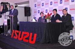 Presentación de nuevos camiones Isuzu / Foto: Miguel A. Rivadeneyra