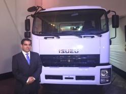 José Navas – Gerente de la División de Camiones y Buses (General Motors / Foto: Miguel A. Rivadeneyra