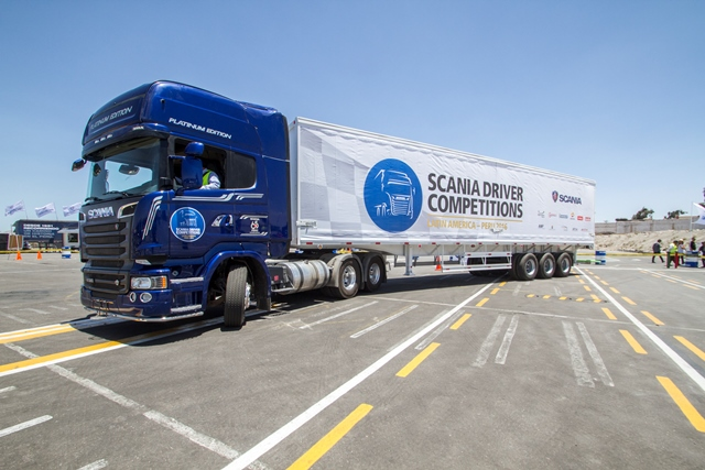 Scania Driver Competitions - Semifinal Región Sur / Foto: Prensa Scania