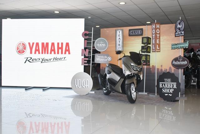 Presentación de la Yamaha NMAX / Foto: Prensa Yamaha
