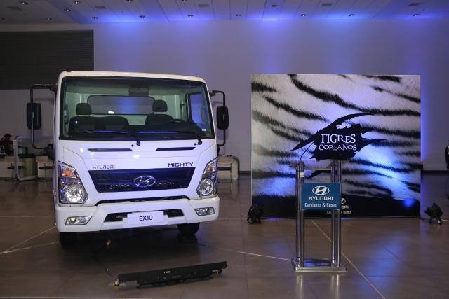 Presentación de nuevos camiones coreanos de Hyundai / Foto: Prensa Hyundai