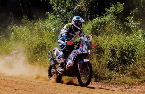 CArlo Vellutino en el Dakar 2017 / Foto: Prensa Vellutino