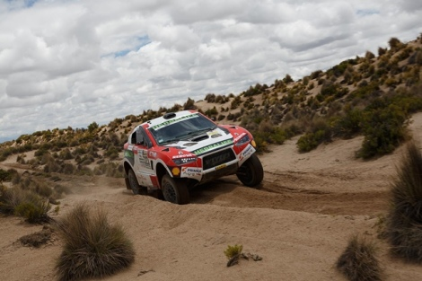Nicolás Fuchs en el Dakar 2017 / Foto: Shakedown Team