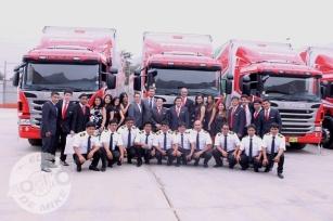 Entrega de unidades Scania a Grupo Toscanos / Foto: Miguel Angel Rivadeneyra