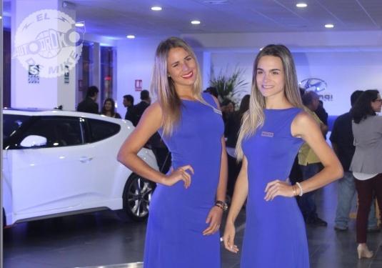 Presentación del nuevo Salón de ventas de Hyundai Autocam / Foto: Miguel Angel Rivadeneyra
