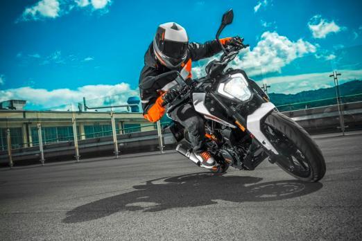 Presentación de la KTM RC 390 Y KTM Duke 250 / Foto: Miguel Angel Rivadeneyra