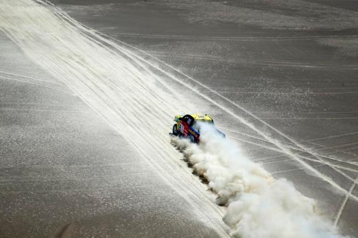 Diego Weber en el Baja Inka Paracas 1000 / Foto: ITEA Comunicaciones