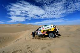 Emiliano Spataro en el Baja Inka Paracas 1000 / Foto: ITEA Comunicaciones