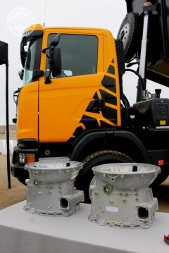 Presentación del camión Scania Heavy Tipper / Foto: Miguel Angel Rivadeneyra