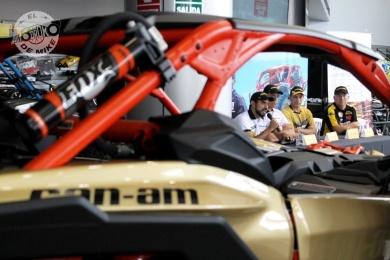 Dakar 2018 - Team CanAm (11)