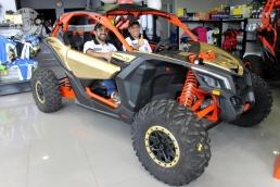 Dakar 2018 - Team CanAm (5)