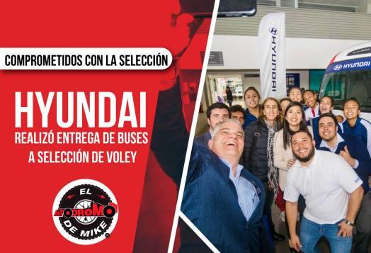 Hyundai entregó unidades a la Selección Peruana de Voleibol / Foto: Benhur Mejía