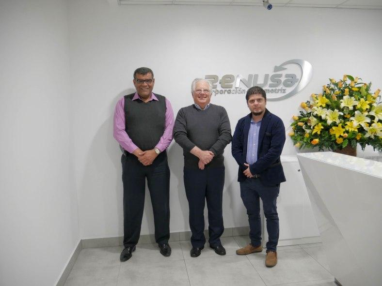 RENUSA 50 AÑOS Marco Antonio Trujillo, Leon Wolfenzon, Alexis Ayala